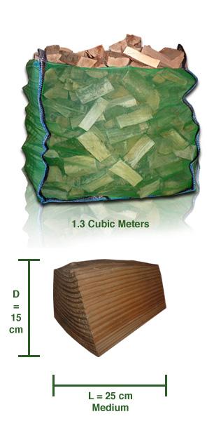 Kiln Dried Logs - Softwood